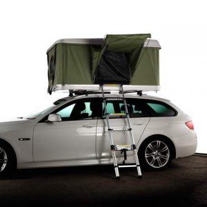 white roof top tent