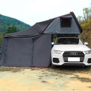 Fold out roof top tent with annex